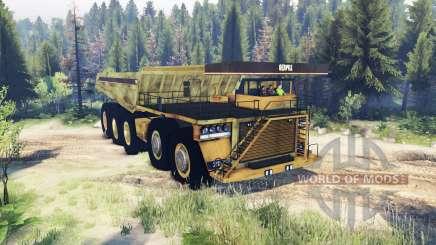 Mining truck 10x10 für Spin Tires