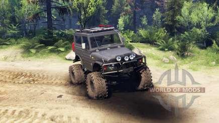 Suzuki Samurai LJ880 black für Spin Tires