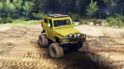 Suzuki Samurai LJ880 green pour Spin Tires
