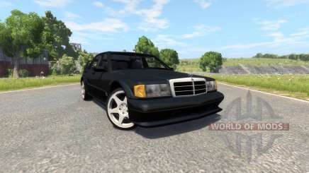 Mercedes-Benz 190E Evolution II 2.5 1990 pour BeamNG Drive