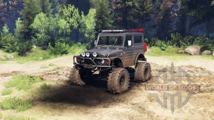 Suzuki Samurai LJ880 dirty black für Spin Tires