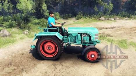 Kramer KL 200 für Spin Tires