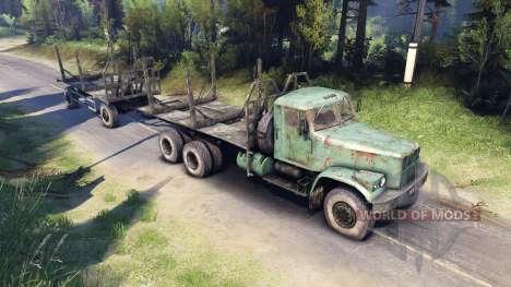 KRAZ-257 PJ2 für Spin Tires