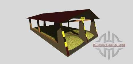 Fosse d'ensilage avec un pare-v2.0 pour Farming Simulator 2013