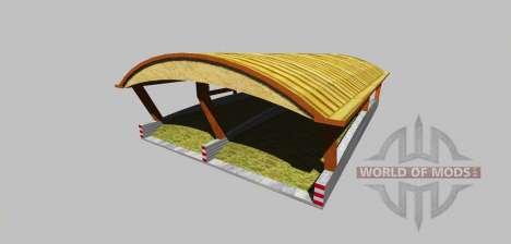 Silage Grube mit einem Baldachin v3.0 für Farming Simulator 2013
