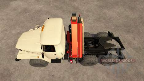 Oural-5557 grue d'ivoire pour Farming Simulator 2013