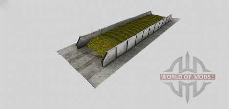 Silage pit (befestigte) für Farming Simulator 2013