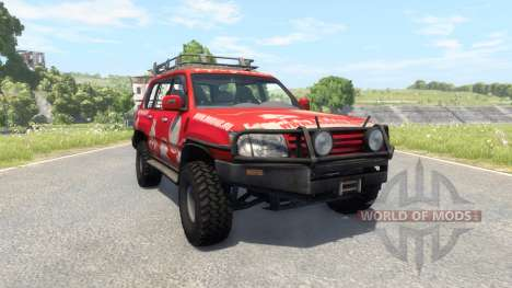 Toyota Land Cruiser 100 v2.0 für BeamNG Drive
