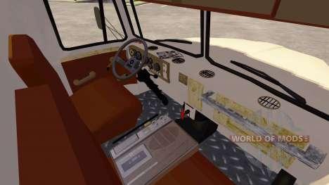 Ural-5557 Kran Elfenbein für Farming Simulator 2013