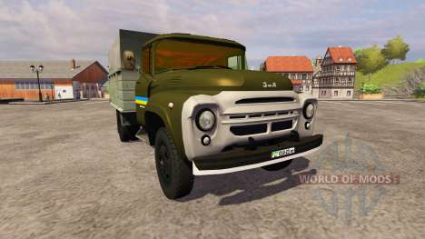 ZIL 130 MMP 4502 kaki pour Farming Simulator 2013