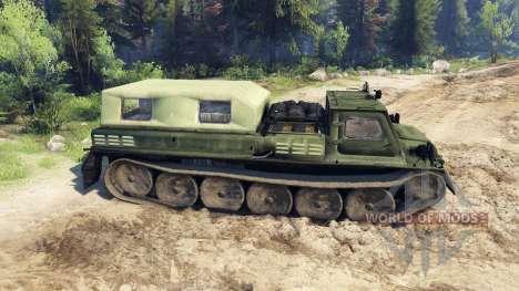GAZ-71 (GT-CM) pour Spin Tires