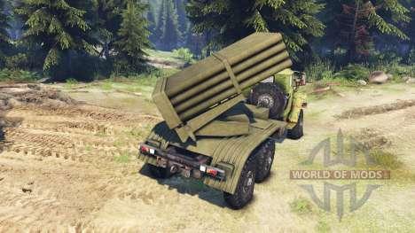 Ural 375 für Spin Tires