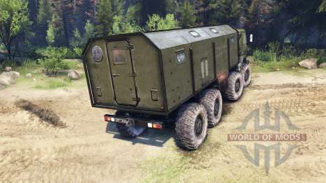 KamAZ-6350 Mustang 1998 pour Spin Tires