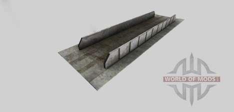 Fosse d'ensilage (fortifiée) pour Farming Simulator 2013