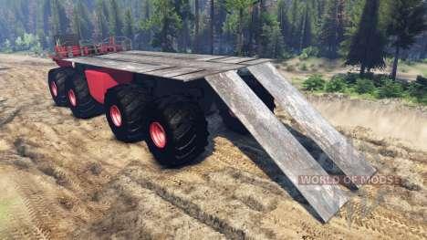 Monster truck für Spin Tires
