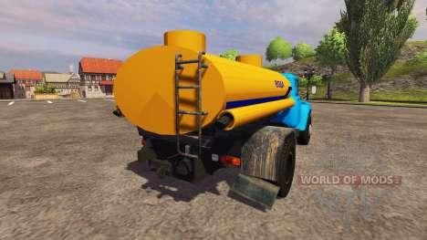 ZIL 130 de l'eau pour Farming Simulator 2013
