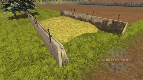 Silage pit gekauft für Farming Simulator 2013