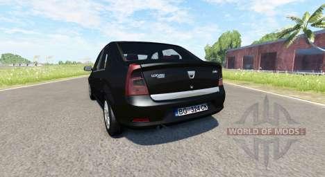 Dacia Logan 2008 v2.0 für BeamNG Drive