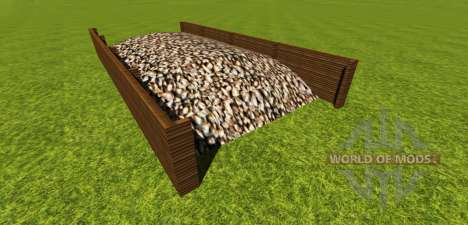 Fosse d'ensilage pour la betterave à sucre pour Farming Simulator 2013