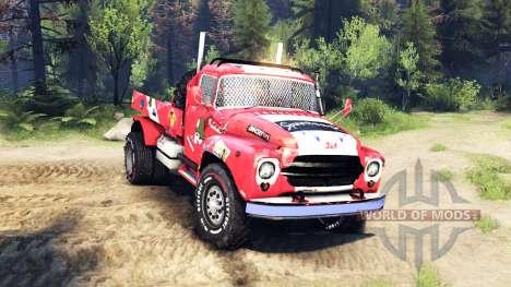 ZIL-130 4x4 autocross für Spin Tires