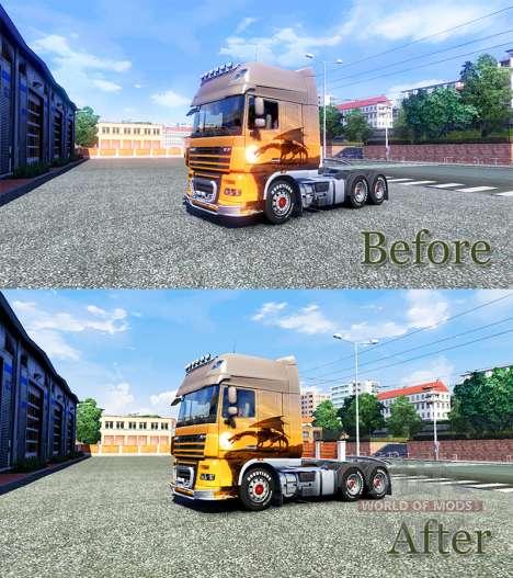 HDR amélioration pour Euro Truck Simulator 2
