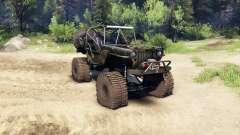 Jeep Willys camo