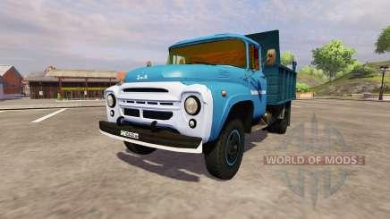 ZIL 130 MMP 4502 bleu pour Farming Simulator 2013