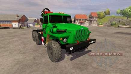 Ural-5557 Kran grün für Farming Simulator 2013