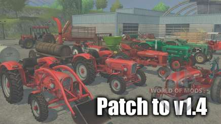 Patch auf version 1.4 für Farming Simulator 2013