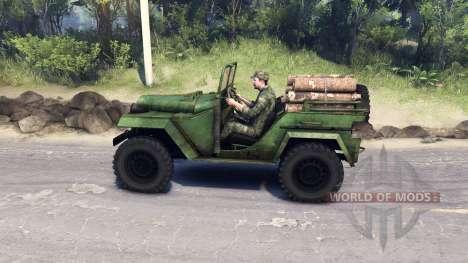 GAZ-67 B für Spin Tires