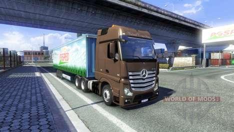 Mercedes-Benz Actros pour Euro Truck Simulator 2