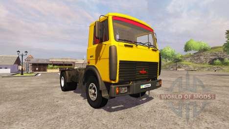 MAZ-5551 tracteur pour Farming Simulator 2013