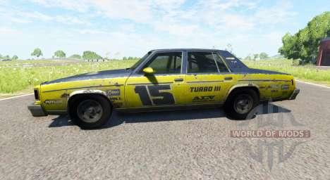 American Sedan skin1 pour BeamNG Drive