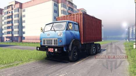 MAZ-515 pour Spin Tires