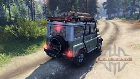 UAZ-469 B pour Spin Tires