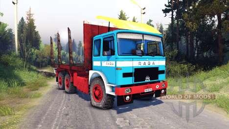 Raba-MAN 832 v2.0 für Spin Tires