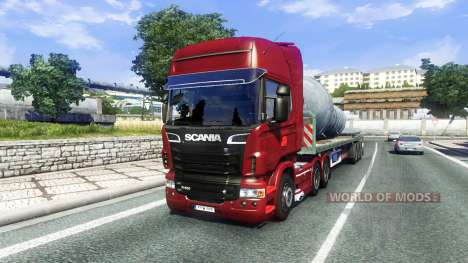 Scania R500 pour Euro Truck Simulator 2
