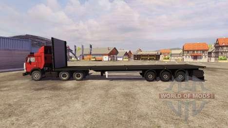 KamAZ-54115 Odaz-9370 Koegel für Farming Simulator 2013