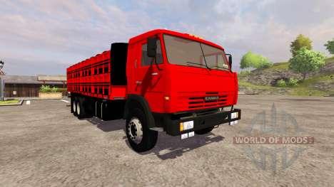 KamAZ-54115 Board für Farming Simulator 2013
