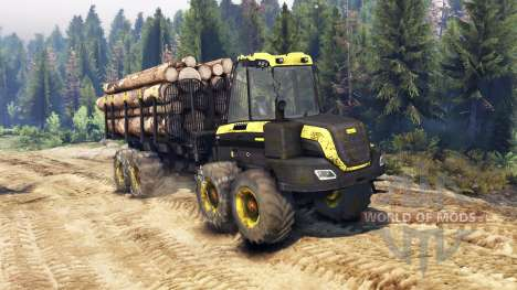 PONSSE Buffalo 8x8 AT pour Spin Tires