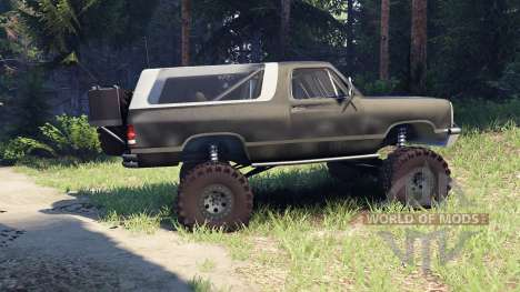 Dodge Ramcharger II 1991 default pour Spin Tires