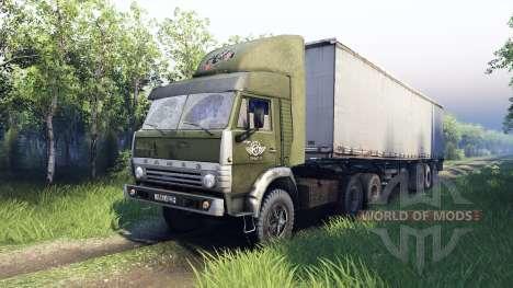 KamAZ-5410 für Spin Tires