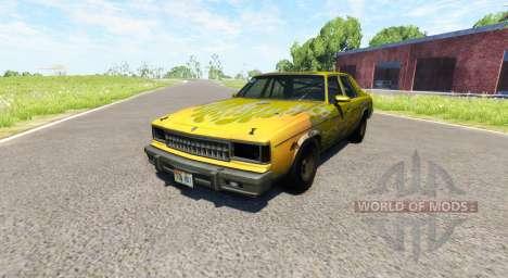American Sedan skin5 für BeamNG Drive