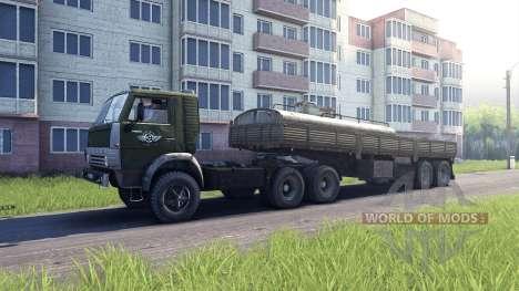 KamAZ-5410 pour Spin Tires