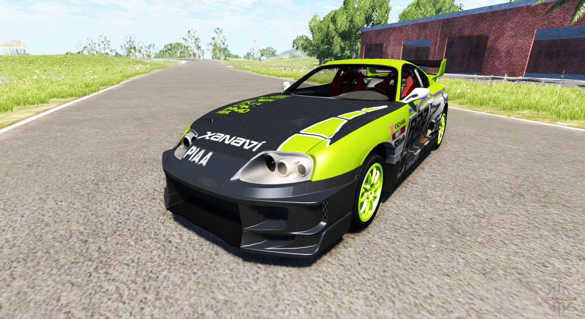 toyota supra drift 1995 pour beamng drive. Black Bedroom Furniture Sets. Home Design Ideas