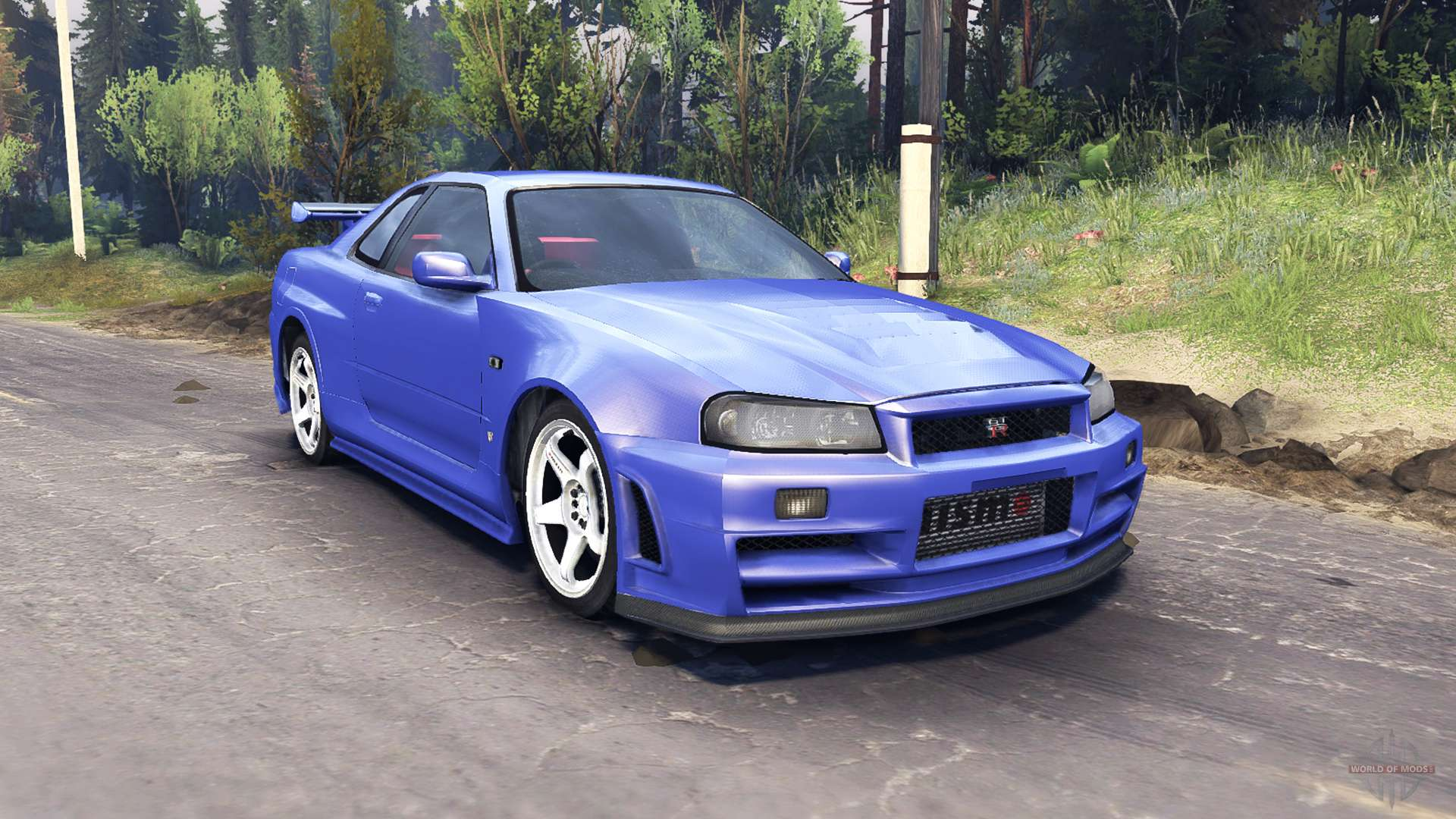 nissan skyline r34 gt r nismo z tune pour spin tires. Black Bedroom Furniture Sets. Home Design Ideas