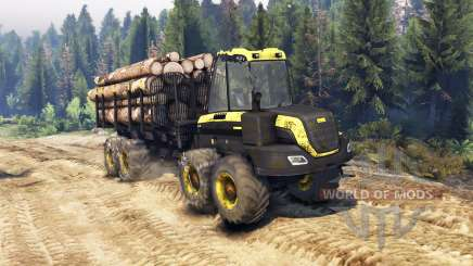 PONSSE Buffalo 8x8 AT für Spin Tires