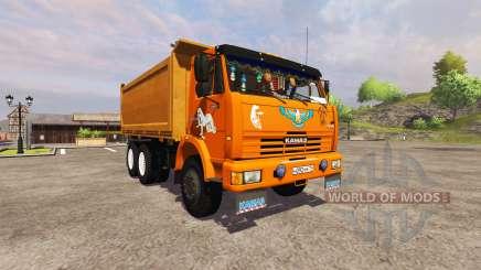KamAZ-54115 camion pour Farming Simulator 2013