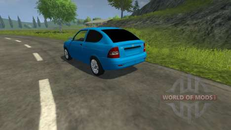 Lada Priora Coupe pour Farming Simulator 2013