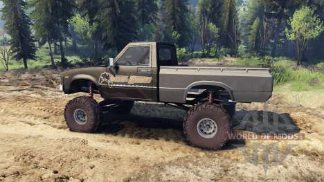 Toyota Hilux Truggy 1981 v1.1 camo pour Spin Tires
